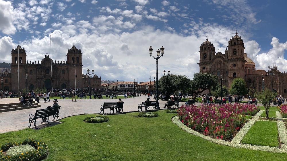 Cusco, Peru - main plaza  photo credit: www.paradoxtravels.com