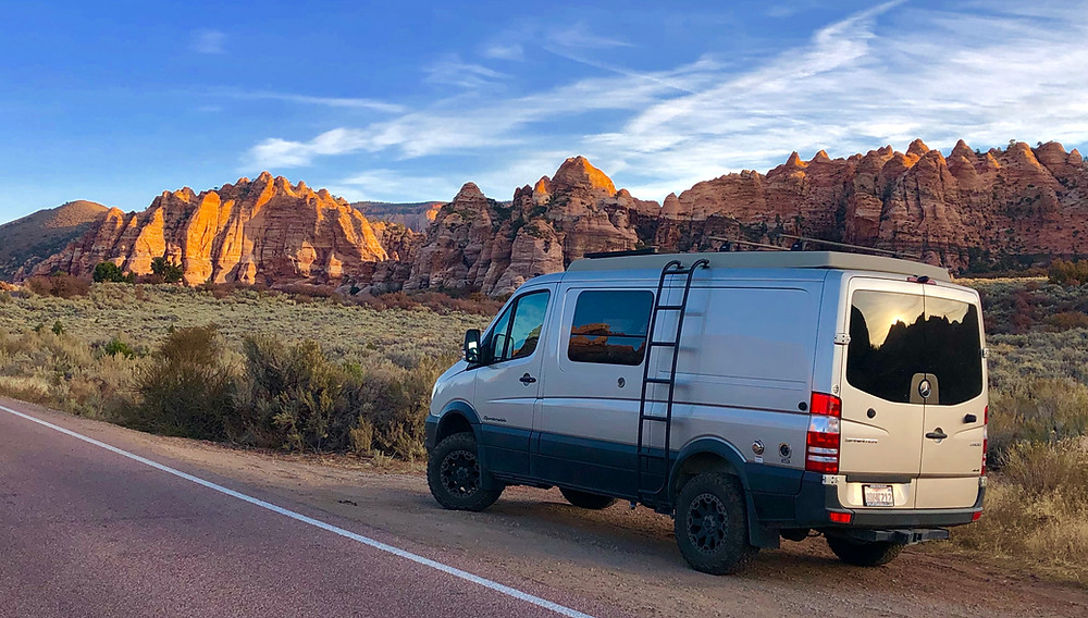 Kolob Terrace Road, Zion National Park -see complete road trip itinerary at Paradox Travel   Photo: Jen Stover