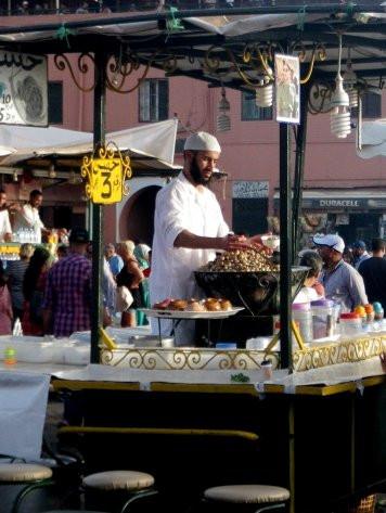 Snail soup merchant, Marrakech, Morocco