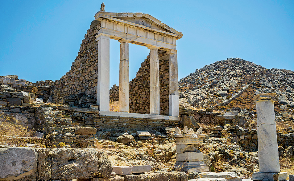 Delos Island, Greece Photo: Jen Stover - Paradox Travel    See our complete itinerary at www.paradoxtravels.com