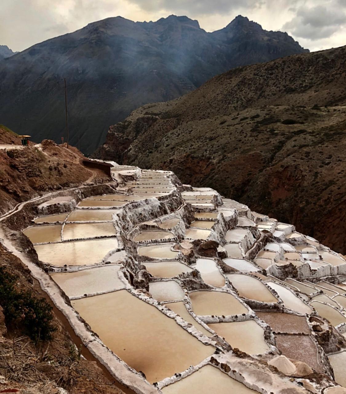 Maras Salt Flat, Peru