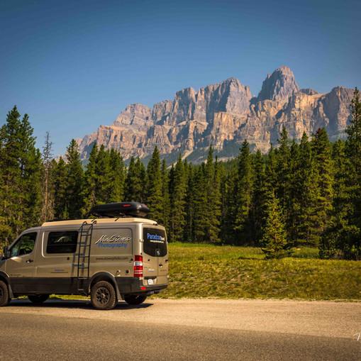Banff National Park road trip