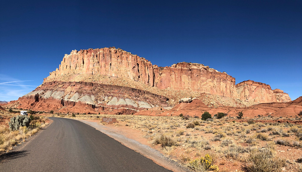 Capitol Reef National Park, Scenic Drive - See complete road trip itinerary at Paradox Travel   Photo: Jen Stover