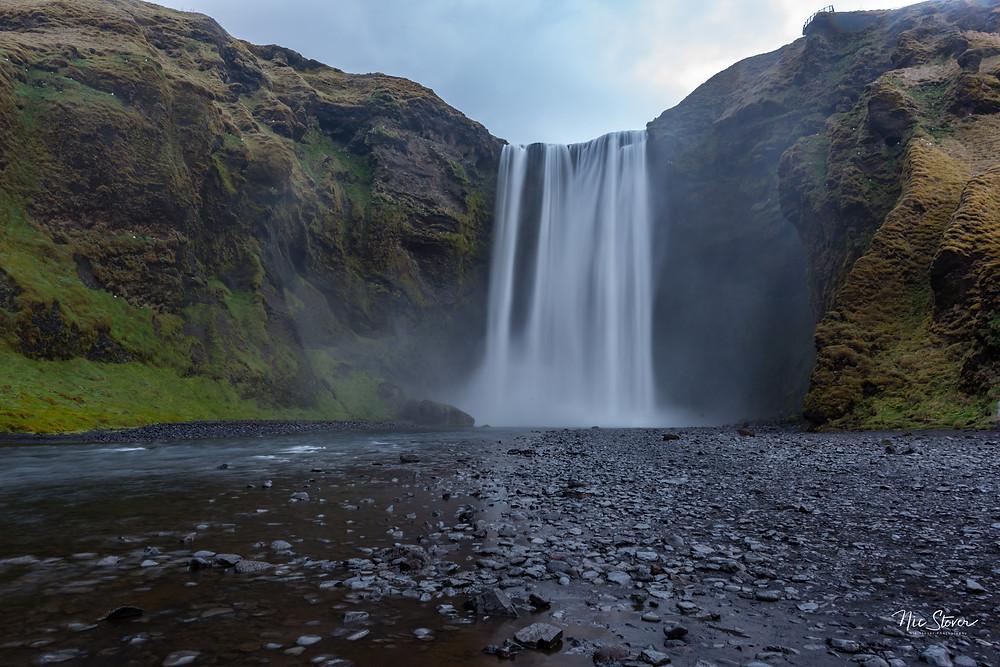 Skogafoss, Iceland  Photo credit: Nic Stover