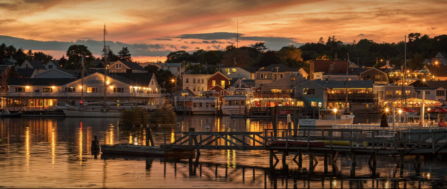 Boothbay Harbor, Maine  photo credit: Boothbay Harbor Mart Harborview Rentals