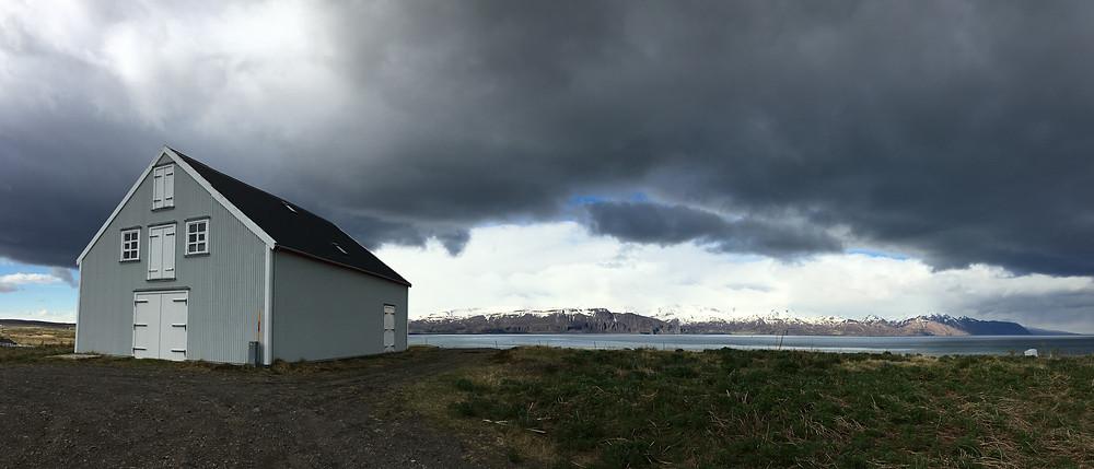 Old Horse barn on Husavik Cottages property, Iceland   photo credit: Jen Stover