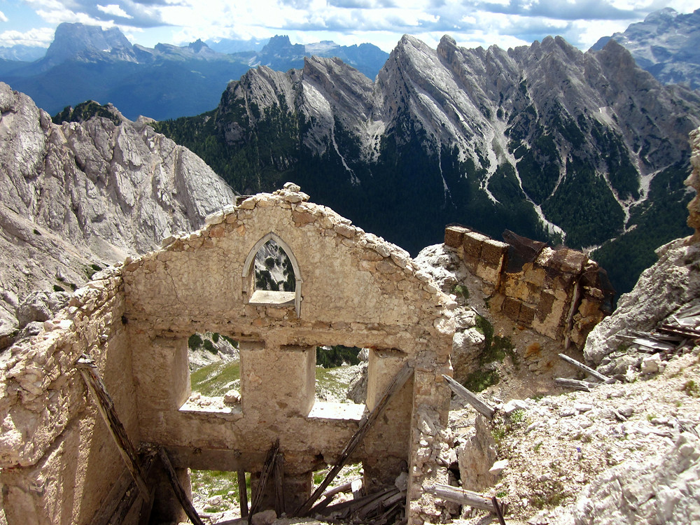 Cristallo Range Via Ferrate, Cortina d'Ampezzo, Italy   see complete itinerary at www.paradoxtravels.com