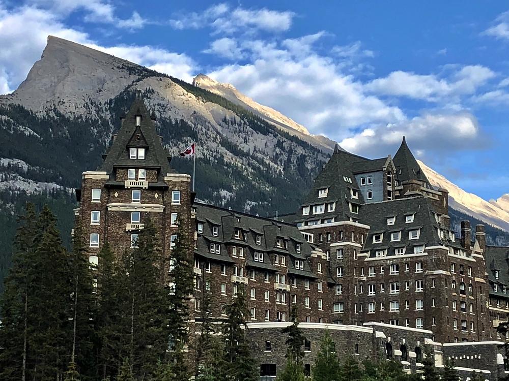 Banff Springs Hotel, BC - Photo: Paradox Travel  www.paradoxtravels.com
