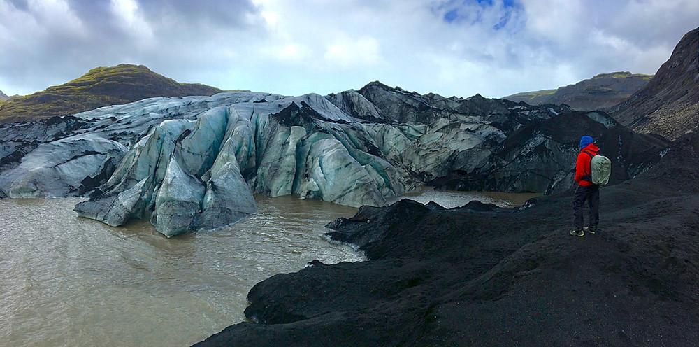 Katla GeoPark, Myrdalsjokull Gaclier, Iceland    photo credit: Jen Stover