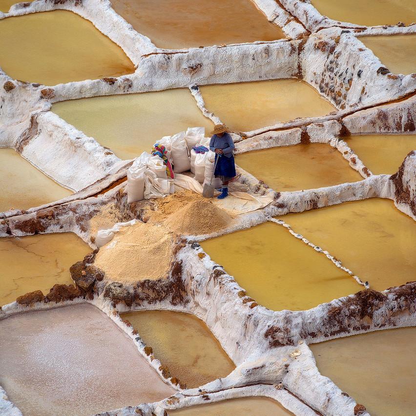 Maras Salt Mine, Peru