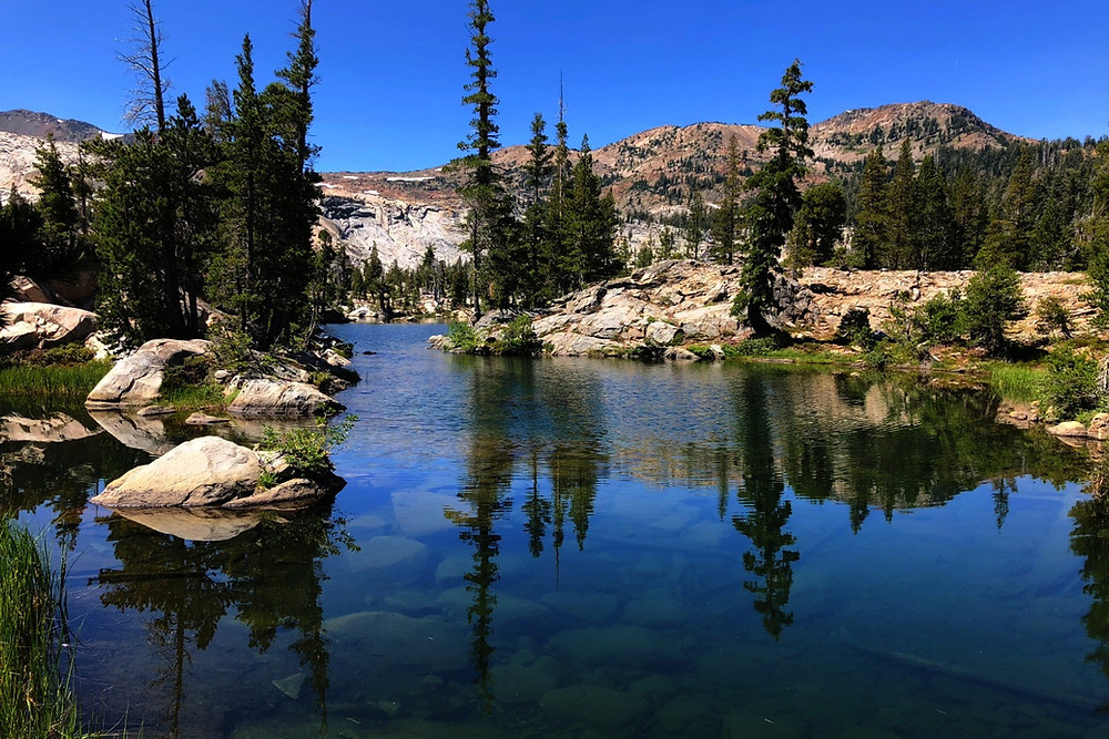 Velma Lake, Desolation Wilderness, Lake Tahoe - Photo: Jen Stover, Paradox Travel   See complete road trip itinerary at www.paradoxtravels.com