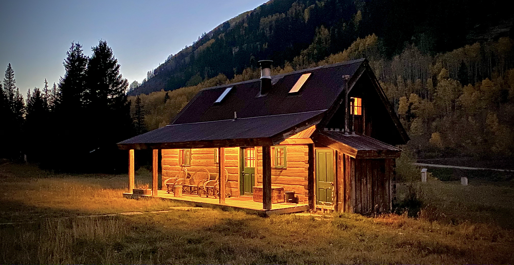Dunton Hot Springs - all individual unique cabins with luxurious interiors
