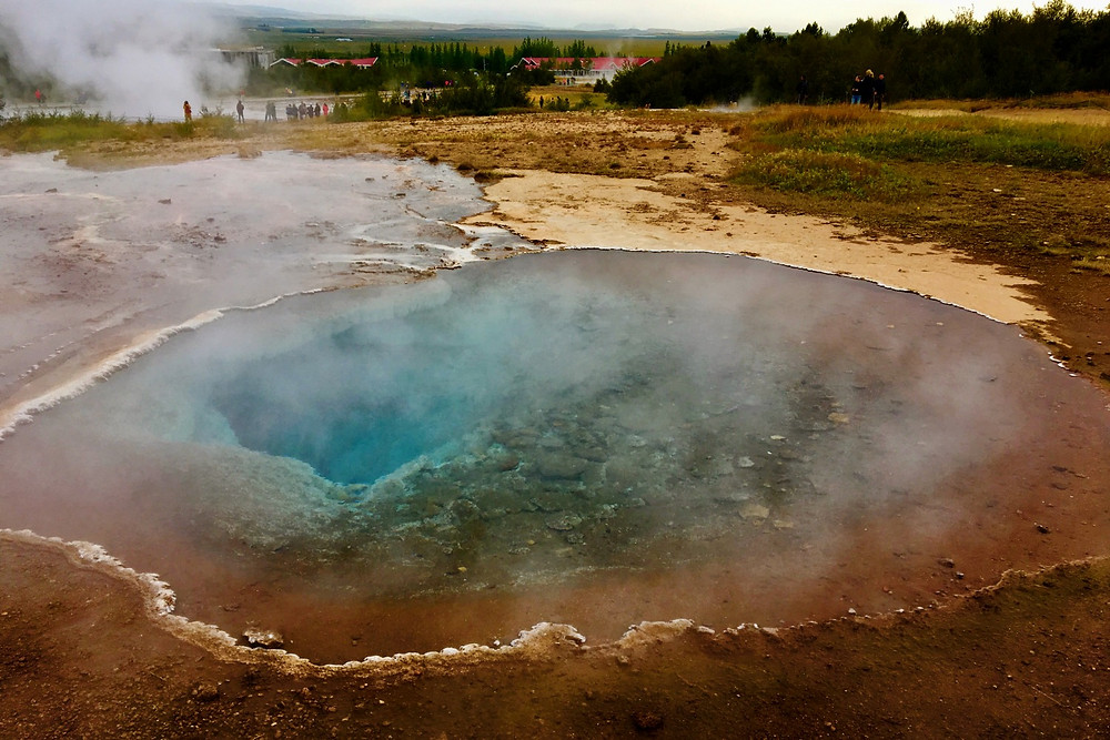 Geysir Geothermal Field, Iceland   photo credit: Jen Stover