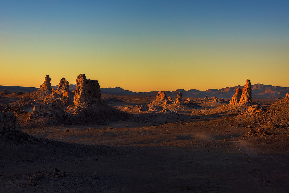 Trona Pinnacles, California - Paradox Travel  photo: www.stoverphoto.com