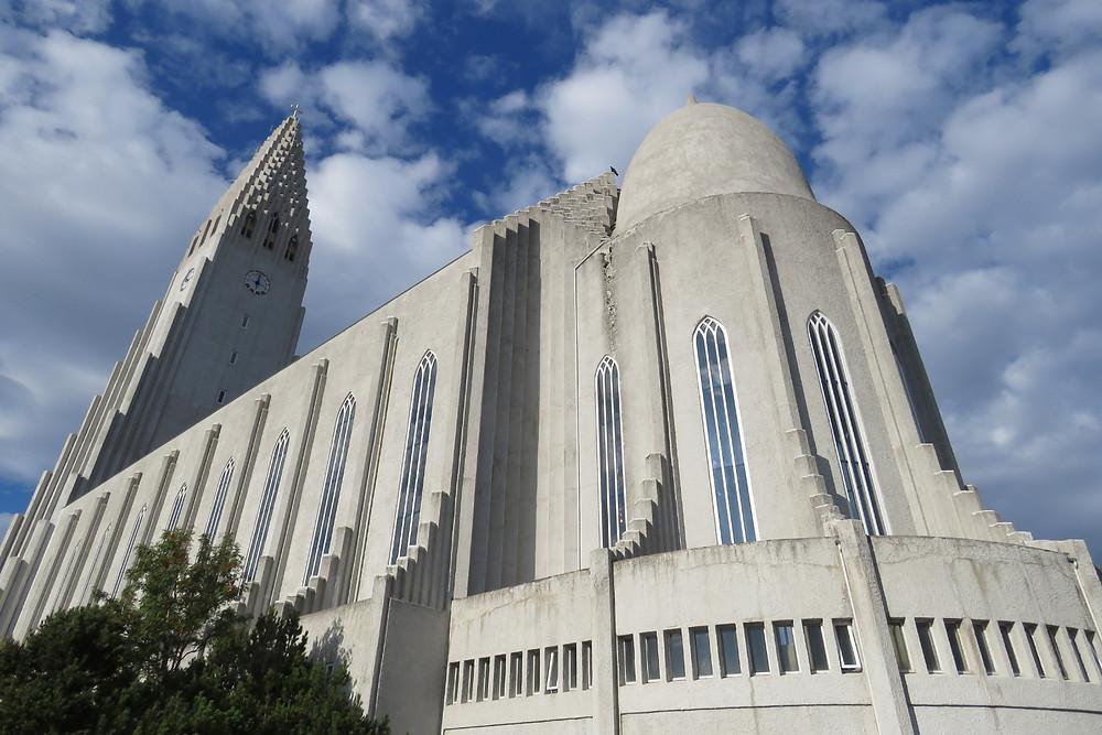 Hallgrimskirkja cathedral, Reykjavik, Iceland   photo credit: Jen Stover