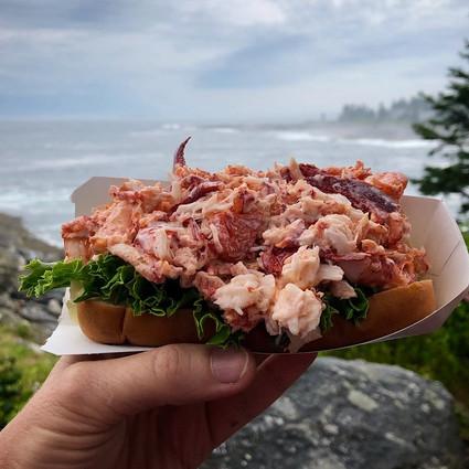 Lobster roll from Trevett CS