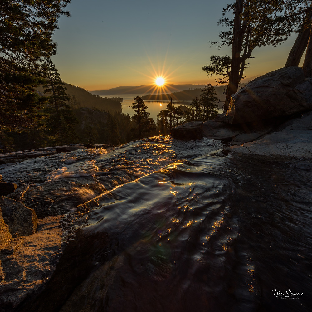 Emerald Bay, Lake Tahoe - Paradox Travel  See complete road trip itinerary at www.paradoxtravels.com   Photo: Nic Stover photography