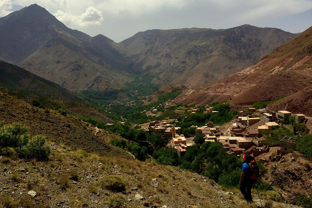 hiking through Berber country in Morocco - photo credit: www.paradoxtravels.com