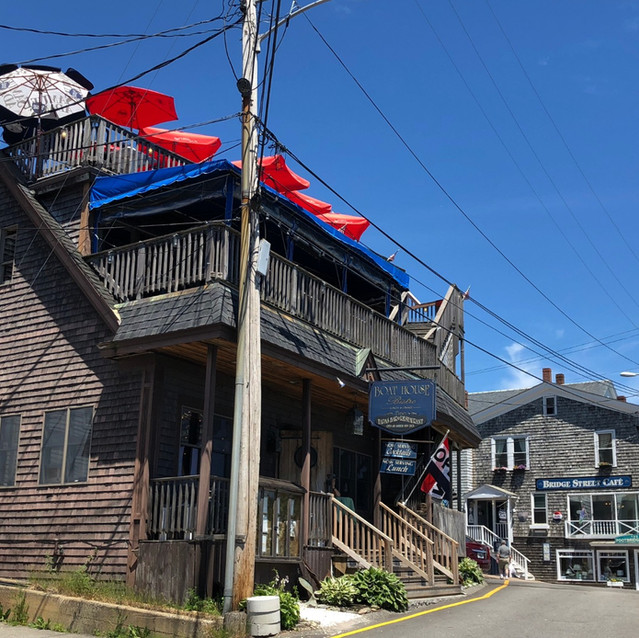 Boat House Bistro, Boothbay, ME