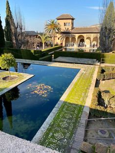 Alhmabra gardens, Granada, Spain - See our complete Southern Spain road trip itinerary at Paradox Travels