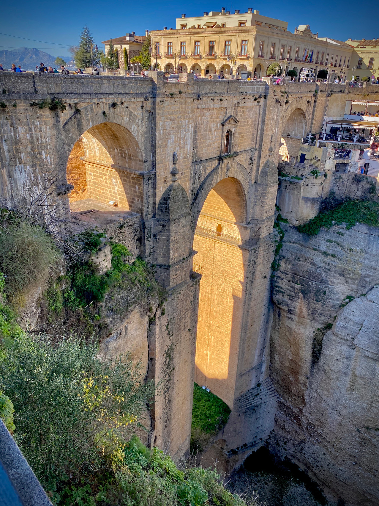 Puente Nuevo, Ronda Spain - See our complete Southern Spain road trip itinerary at Paradox Travels.