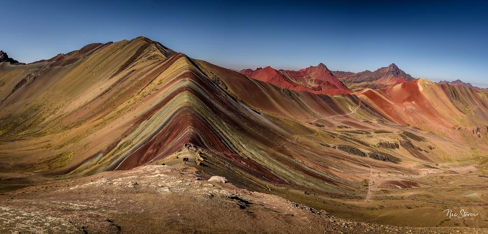 Rainbow Mountain, Peru (Vinicunca) - photo credit: www.stoverphoto.com