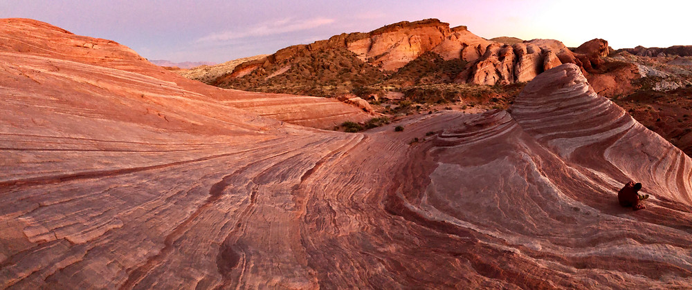 Fire Wave, Valley of Fire State Park - see complete road trip itinerary at Paradox Travel  Photo: Jen Stover