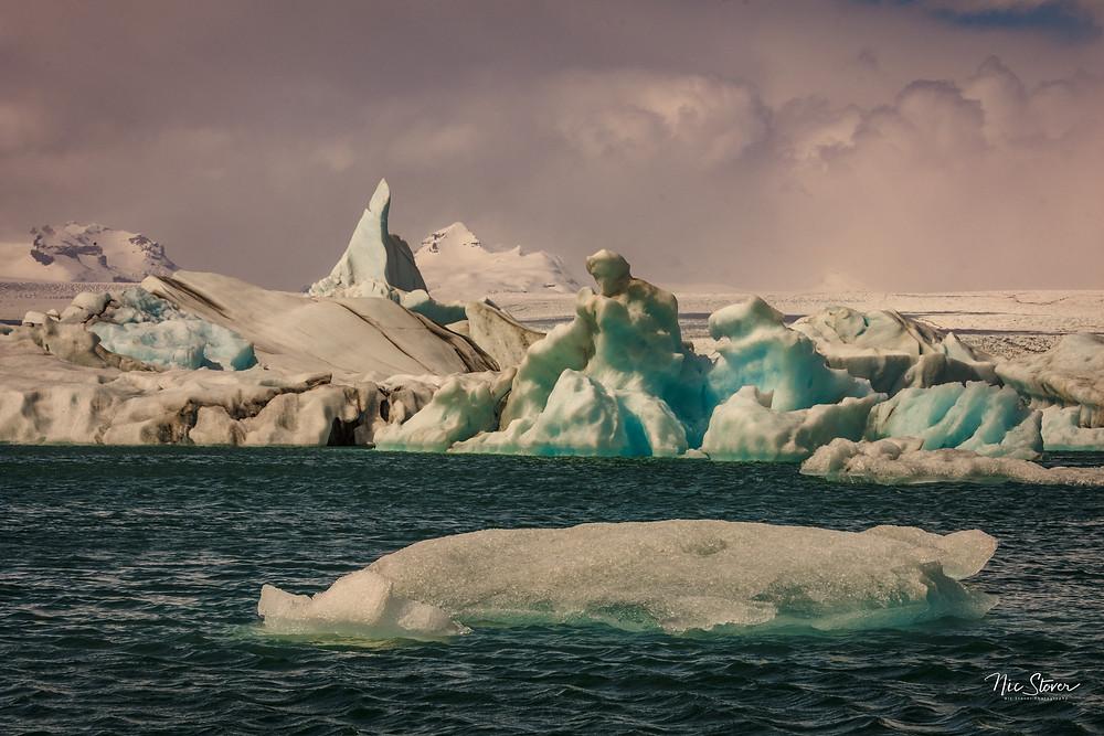 Jökulsárlón Glacier Lagoon, Iceland  Photo credit: Nic Stover