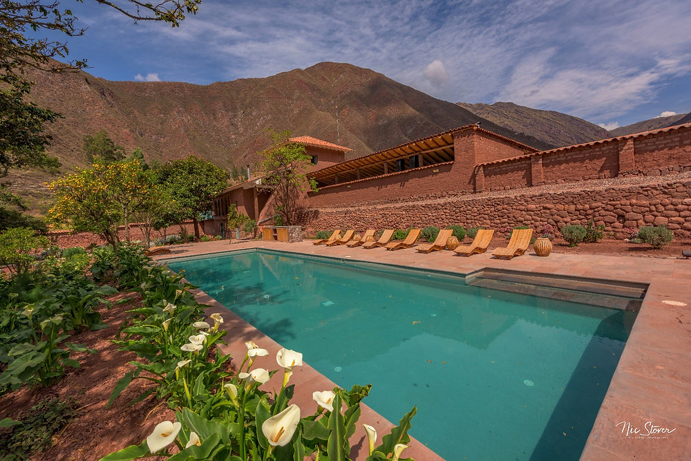 The spa area at Explora Sacred Valley. Photo credit: www.stoverphoto.com