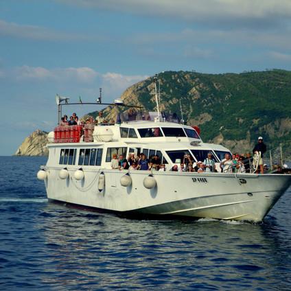Ferry to Riomaggiore