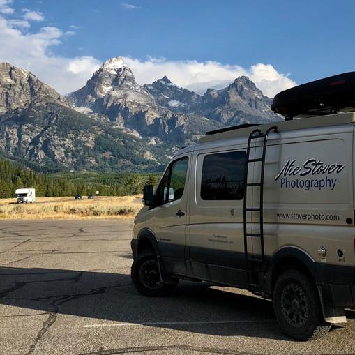 Grand Teton National Park road trip
