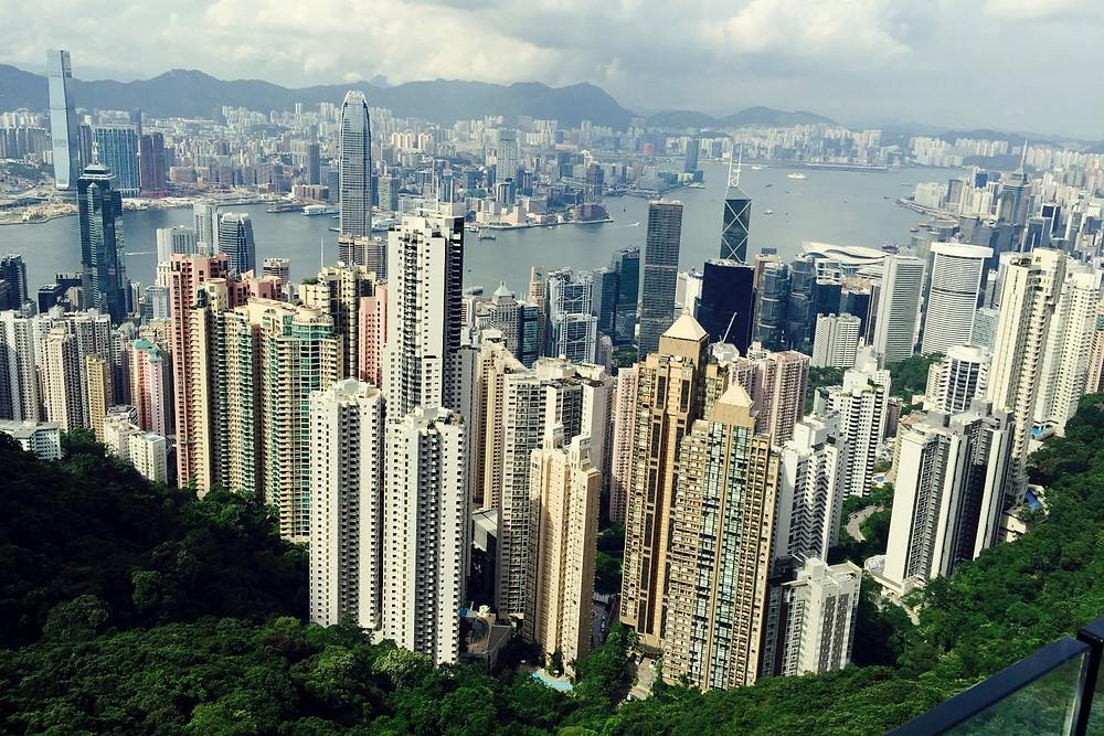 Hong Kong - from Victoria Peak