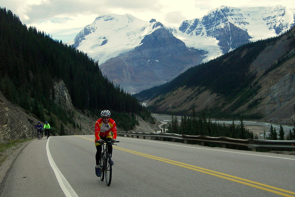The Bow Valley Parkway at its best!
