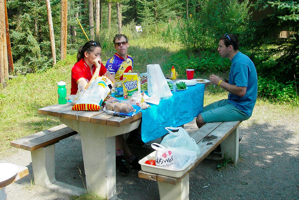 Johnston Canyon picnic area