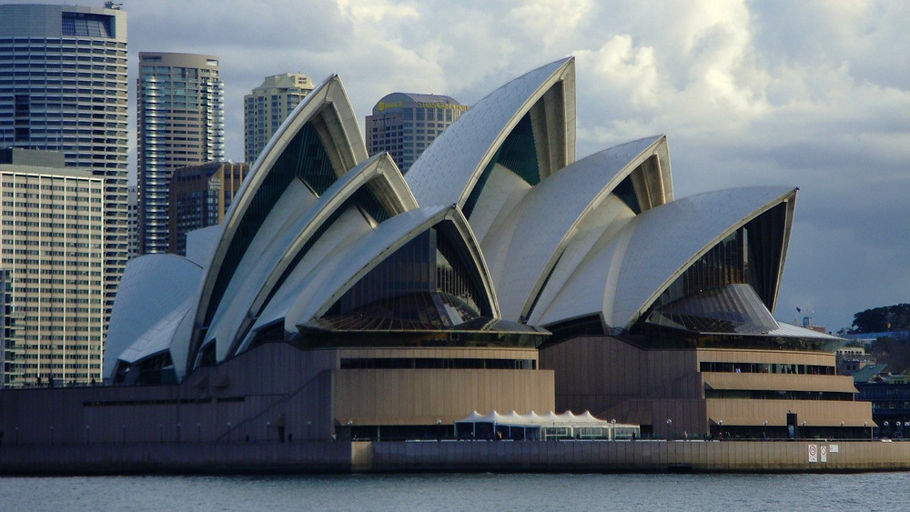 Sydney Opera House from the Manley Ferry
