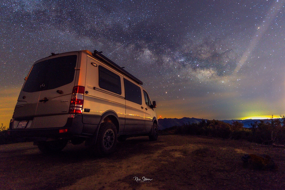 Our Mercedes Sprinter Van - photo credit: www.stoverphoto.com