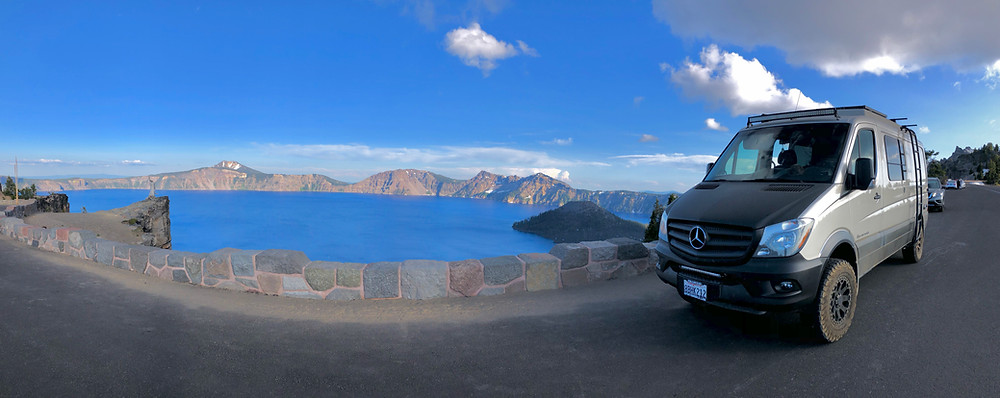 Crater Lake - Photo: Jen Stover - Paradox Travel  See full road trip itinerary at www.paradoxtravels.com