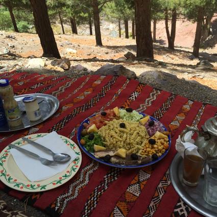 Berber Trekking lunch