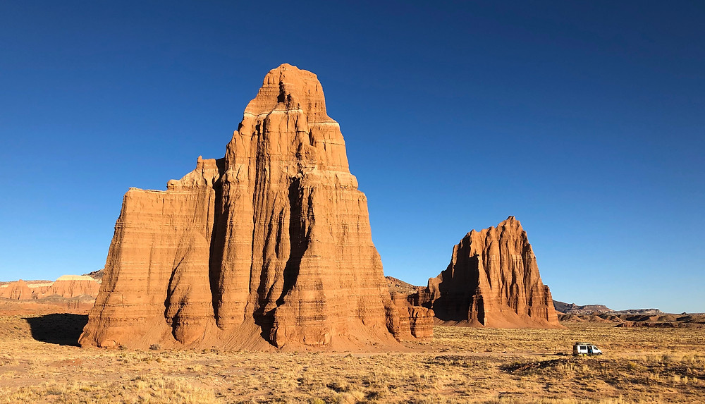 Capitol Reef National Park - see our complete road trip itinerary at Paradox Travel   Photo: Jen Stover