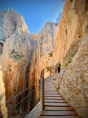 Caminito del Rey, Malaga, Spain - See our complete Southern Spain road trip itinerary at Paradox Travels.