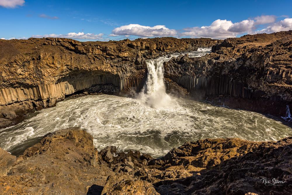 Aldeyjarfoss, Iceland   photo credit: Nic Stover