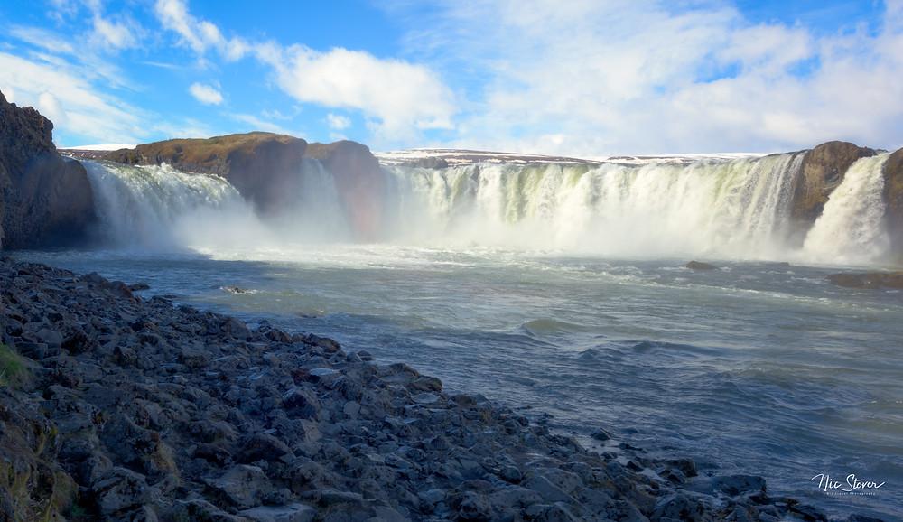 Godafoss, Iceland  photo credit: Nic Stover
