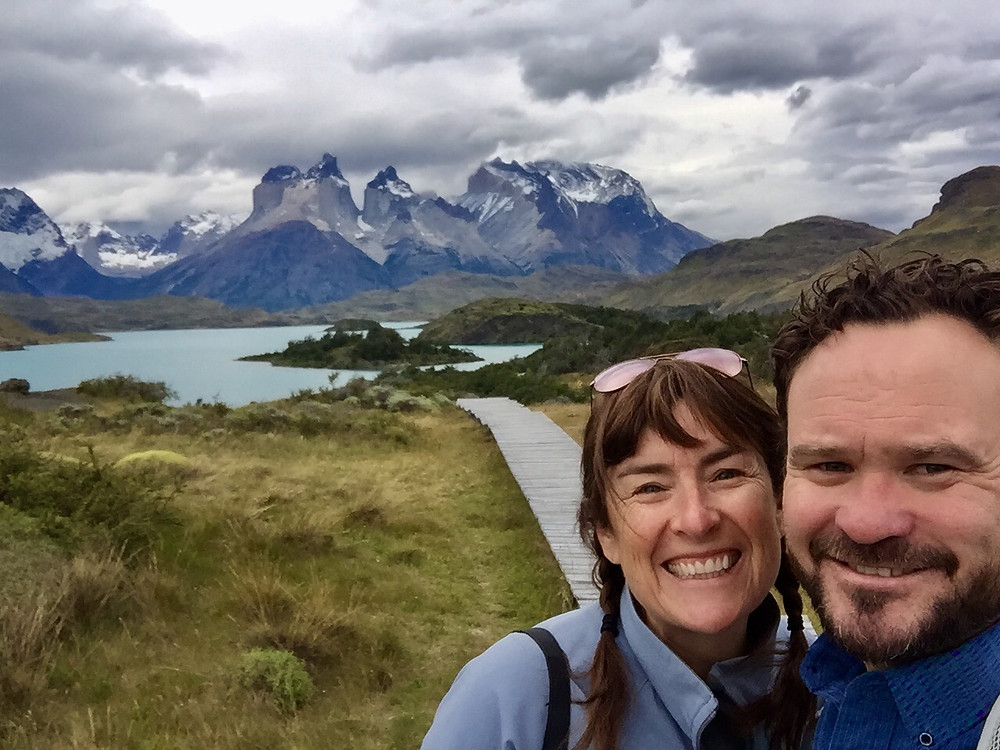 Explora Patagonia, Torres del Paine, Chile - our view every morning