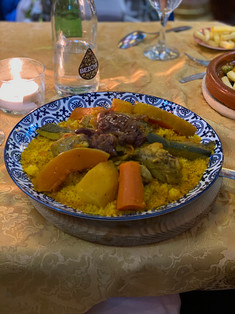 Tagine dinner in Albaicin neighborhood, Granada, Spain - See our complete Southern Spain road trip itinerary at Paradox Travels