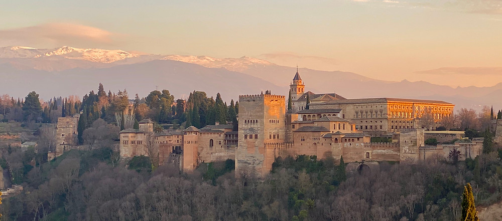 Alhambra -  Granada, Spain - see complete Southern Spain road trip itinerary at Paradox Travel