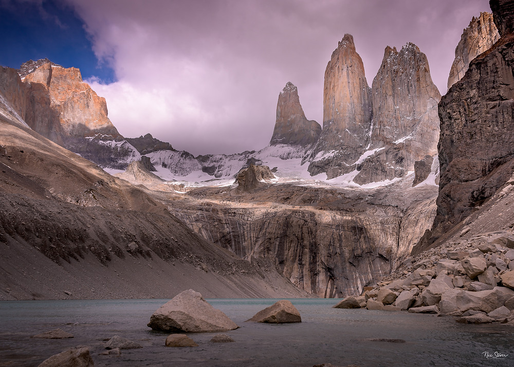 Base of the Towers - Patagonia. We did this hike on a good weather day.  photo credit: www.stoverphoto.com