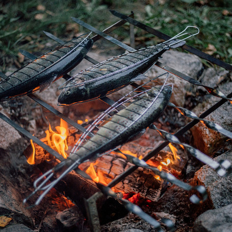 BBQ HARISSA SARDINES/MACKEREL