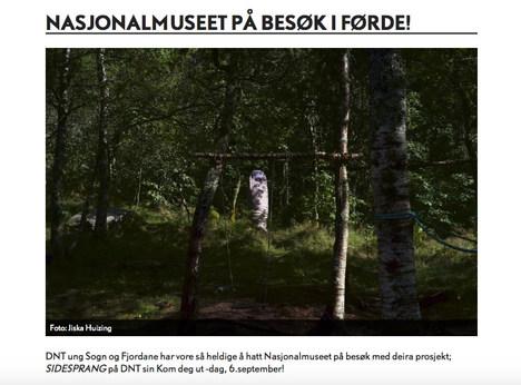 Nasjonalmuseet på besøk i Førde!