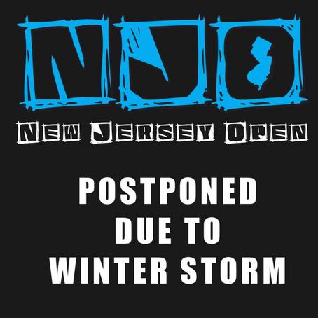 Winter Weather Postpones NJO
