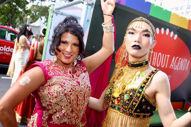 Mango Dance supports the Mardi Gras